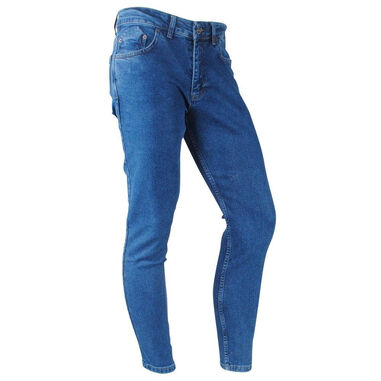 Catch heren jeans stretch lengte 32 denim blauw
