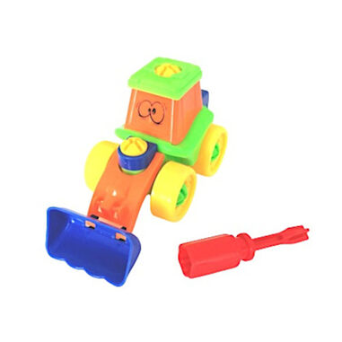 Funny Toys multifunctionele schuiftruck junior 2-delig