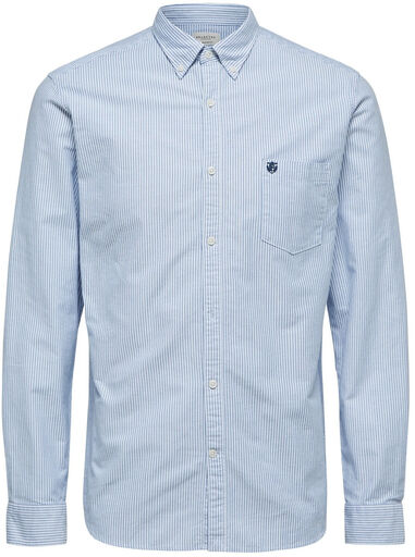 Selected Homme Overhemd hemels oxford button down regular fit