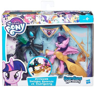 My little pony - Guardians of Harmony Princess Twilight Sparkle vs. Changeling