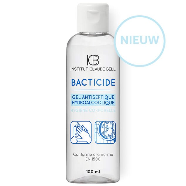 Claude Bell Bacticide Hydro Alcoholic Desinfectie Hand Gel 100ml.
