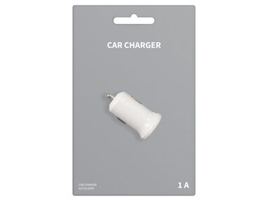 USB car charger wit