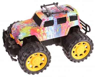PMS monstertruck Rapid Speed Rebel 18 cm verfspetters