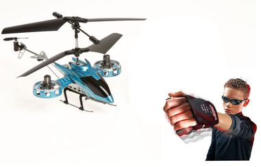 RC Models Braet RC Glove 4 Ch Helicopter