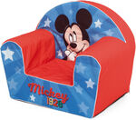 Arditex sofa Mickey Mouse junior 52 cm foam blauw/rood