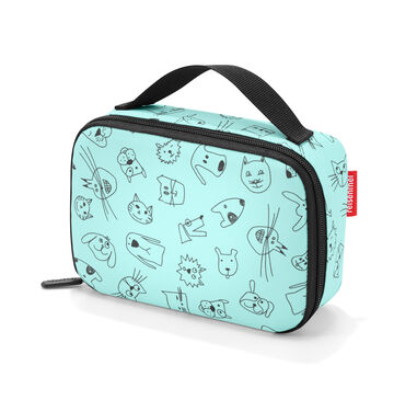 Reisenthel Thermocase Lunchbox - Polyester met aluminium voering - 1.5 L  - Cats&Dogs Mint