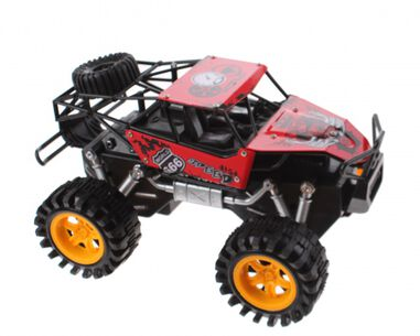 Jonotoys monstertruck Mad Runner Xspeed 22 cm rood/zwart
