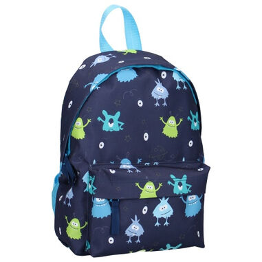 Prêt rugzak monsters junior 8 liter polyester donkerblauw