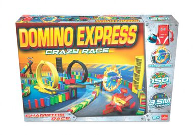 Domino Express Crazy Race 150 stenen