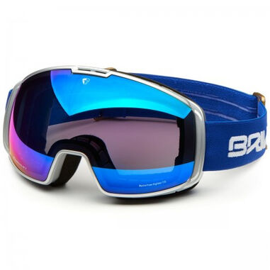 Briko Skibril nyira free fighter 7.6 2 lenses silver blue mirror / pink