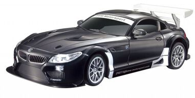 Cartronic RC BMW Z4 GT3 zwart 1:24