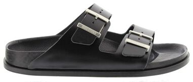 Birkenstock Arizona premium black smooth leather narrow
