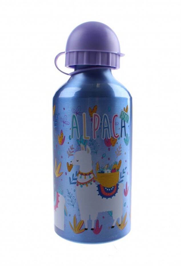 Kids drinkbeker Alpaca 500 ml blauw