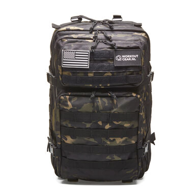 Workout Gear - Fitness Tas - Army Zwart