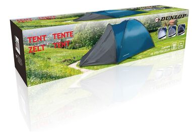 Dunlop 2 Persoons tent - 210x150x120 cm