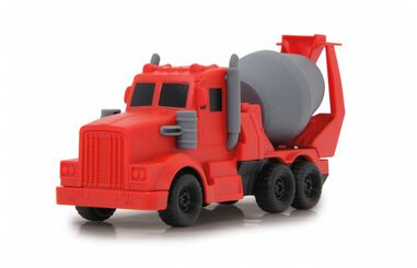 Jamara Building Blocks betonmixer rood junior 17,6 x 6,7 cm