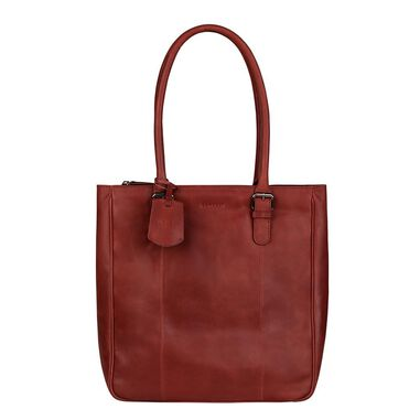 Burkely Lois Lane Shopper cranberry red