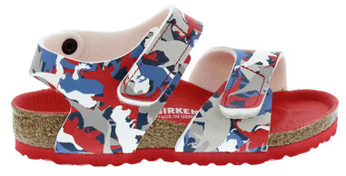 Birkenstock Cl. palu dino camo red narrow bf