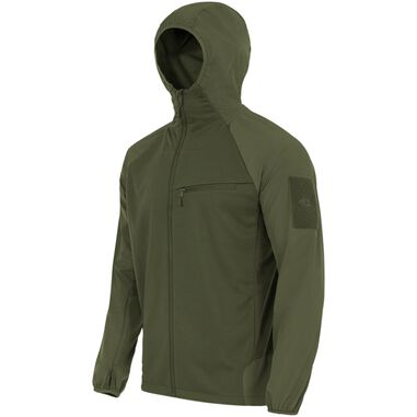Highlander Tactical Hirta Hybrid midlayer shirt-jas voor heren- Groen