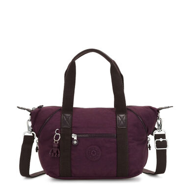 Kipling Art Mini Handtas Dark Plum