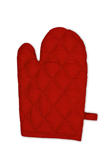 The One Towelling Ovenwant 20 x 29 cm Rood