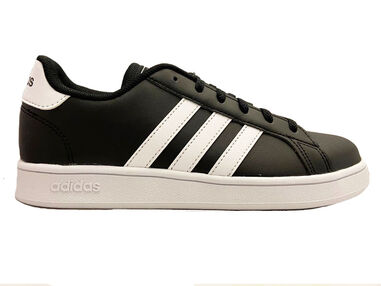Adidas Sneakers grand court kids zwart
