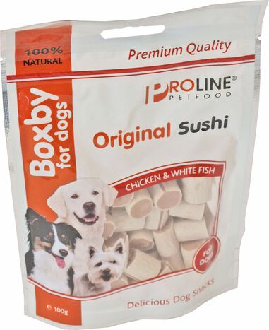 5 stuks Boxby sushi for dogs