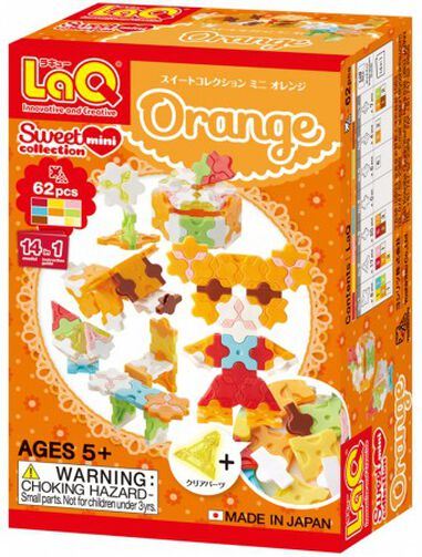 LaQ Sweet Collection Mini Orange