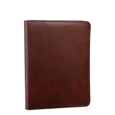 Leonhard Heyden Cambridge Document Wallet medium brown