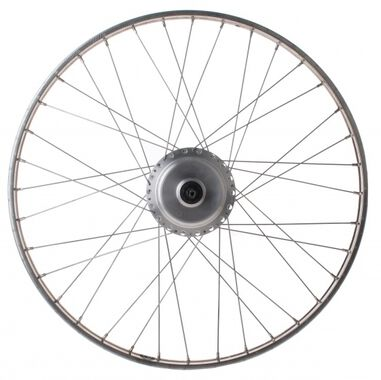 achterwiel 28 Inch Nuvinci N171 36G staal zilver