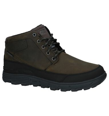 Caterpillar Drover Ice Donker Groene Bottines