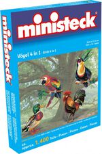 Ministeck vogels 4-in-1 1400 delig