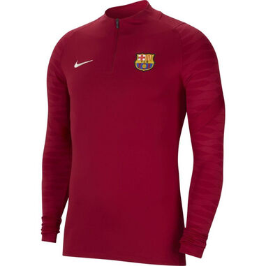 Nike Fc barcelona drill top 2021-2022 kids noble red