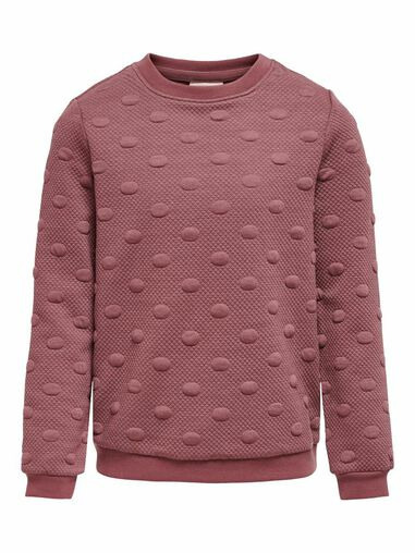 Only Sweatshirt Ronde hals