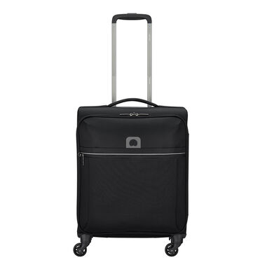 Delsey Brochant 4 Wheels Slim Cabin Trolley 55 black