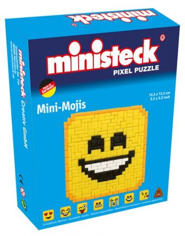Ministeck mini-moji smile emoticon