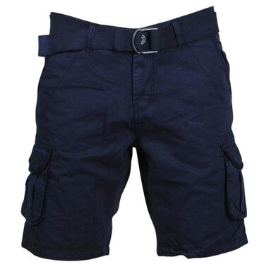 New Republic trendy heren bermuda 6606 - blauw