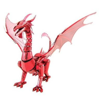 Metal Earth Fascinations Iconx Red Dragon modelbouwset