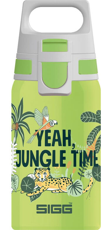 Sigg drinkbeker Jungle jongens 0,5 liter RVS groen