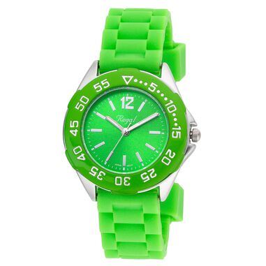 Regal jongenshorloge groene band R37800-434