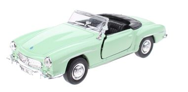 Welly Mercedes-Benz 1955 Cabrio 12cm groen