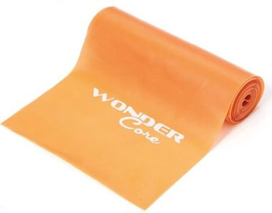 Wonder Core Latex Band - Oranje - Extra Licht