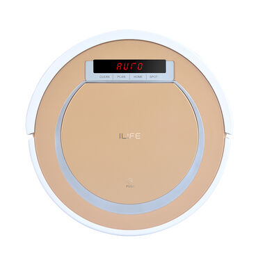 ILIFE Vacuum Robot V55 Vacuum & Mopping with Electrowall Light Gold