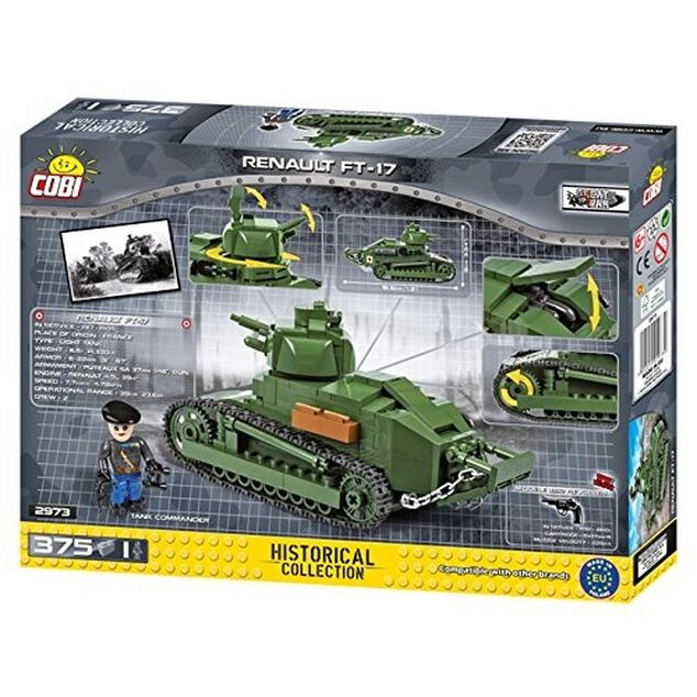 Cobi Small Army HC Renault FT-17 (2973)