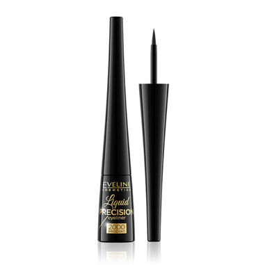Eveline Cosmetics Eyeliner Liquid Precision 2000% Black