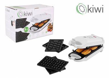 Kiwi KSM 2433 3 in 1 wafelmaker