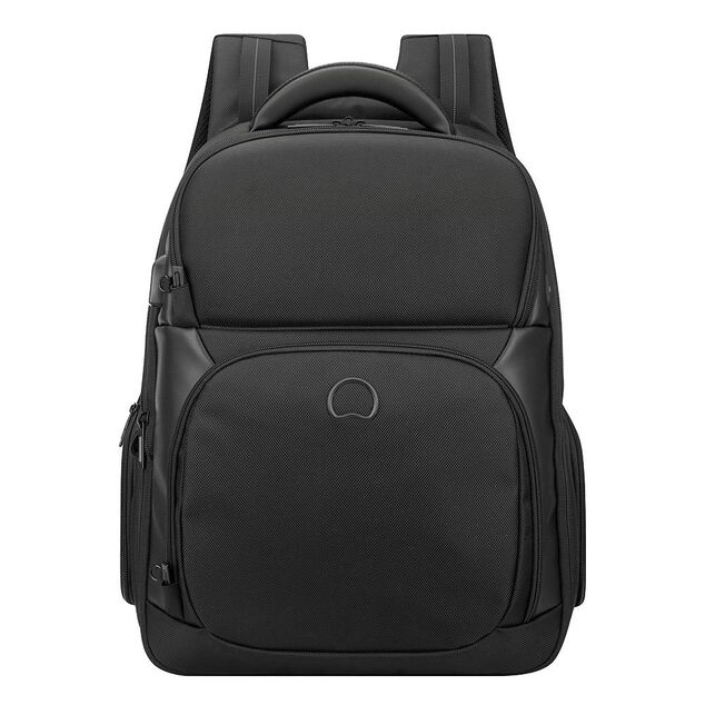 Delsey Quarterback Premium One Compartment Backpack M black