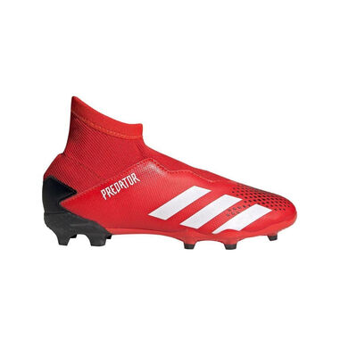 Adidas Predator 20.3 laceless fg kids active red rood