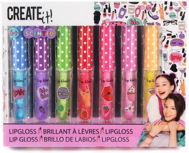 Create It! Lipgloss Scented  Meisjes 7-delig