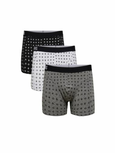 ONLY & SONS Boxershorts 3-pack